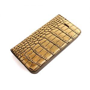 Gold Croco Diary